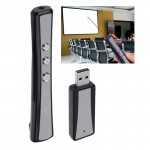 PP-900 2.4GHz Wireless Transmission Multimedia Presenter with Laser Pointer & USB Receiver for Projector / PC / Laptop, Control
