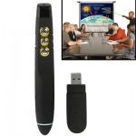 PP-810 2.4GHz Wireless Transmission Multimedia Presenter with Laser Pointer & USB Receiver for Projector / PC / Laptop, Control