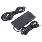 AC Adapter 19.5V 4.62A 90W for DELL D620 Notebook, Output Tips: 7.4x5.0mm(Black)
