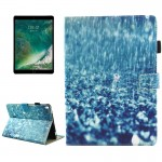 For iPad Pro 10.5 inch Raindrop Pattern Horizontal Flip Leather Protective Case with Holder & Card Slots & Wallet & Pen Slot &Sl