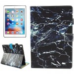 For iPad Pro 10.5 inch Black Marble Pattern Horizontal Flip Leather Protective Case with Holder & Card Slots & Wallet & Pen Slot