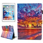 For iPad Pro 10.5 inch Sunset Landscape Pattern Horizontal Flip Leather Protective Case with Holder & Card Slots & Wallet & Pen