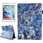 For iPad Pro 10.5 inch Blue Marble Pattern Horizontal Flip Leather Protective Case with Holder & Card Slots & Wallet & Pen Slot