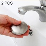 2 PCS Portable Cleaning Stainless Steel Round Hand Soap Eliminating Odour Remover, Random Style Delivery