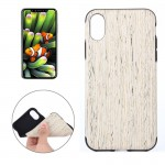 For iPhone 8 Walnut Wood Texture TPU Shockproof Protective Back Cover Case,Small Quantity Recommended Before iPhone 8 Launching