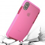 For iPhone 8 Basketball Texture Anti-collision TPU Protective Case, Small Quantity Recommended Before iPhone 8 Launching (Pink)