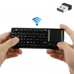 UKB-100 Bluetooth Wireless Ultra Mini Keyboard with Touchpad for Mobile/ PC / Presenter Use(Black)