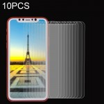 10 PCS for iPhone 8 0.26mm 9H Surface Hardness Explosion-proof Non-full Screen Tempered Glass Screen Film, Small Quantity Recomm