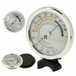 Indoor Thermometer and Hygrometer (TH123)(Silver)