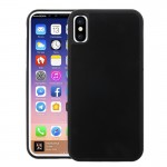 For iPhone 8 TPU + PC Anti-Gravity Dropproof Protective Back Cover Case(Black)