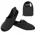 Outdoor Folding Portable Slippers, Size: L(Black)