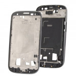 iPartsBuy 2 in 1 for Samsung Galaxy S III / i9300 (Original LCD Middle Board + Original Front Chassis)(Grey)
