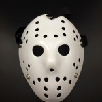 Halloween Party Cool Thicken Jason Mask(White)