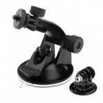 Suction Cup Mount + Tripod Adapter for GoPro Hero 4 / 3+ / 3 / 2 / 1 (ST-61)(Black)