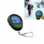 Keychain Handheld Mini GPS Navigation USB Rechargeable Location Finder Tracker for Outdoor Travel Climbing