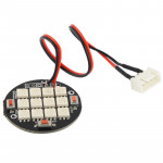 Changing Color 12 LED Multi Axis Night Lights for RC Aircraft with Mucilage Glue and Connecting Sensor FPV