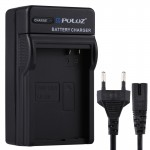 PULUZ EU Plug Battery Charger with Cable for Canon LP-E8 Battery