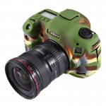 PULUZ Soft Silicone Protective Cover Case for Canon EOS 5D Mark III / 5D3(Camouflage)