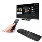 VIBOTON UKB-521 2.4GHz Wireless Multimedia Control Air Mouse Keyboard Remote for PC, Tablet, TV Box(Black)