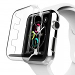 Boitier Coque Transparent pour Apple Watch Series 3 38mm PC Housse de protection - Wewoo
