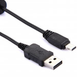 Digital Camera USB Cable for Casio EX-S600 / EX-S770 / EX-S880 / EX-Z60(Black)