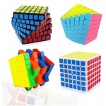 Kirin 6 x 6 x 6 Brain Speed Puzzle Magic Cube Toy, Random Color Delivery