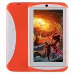 Kids Education Tablet PC, 7.0 inch, 512MB+4GB, Android 4.4 Allwinner A33 Quad Core, WiFi / Bluetooth, with Holder Silicone Case(