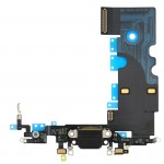 iPartsBuy for iPhone 8 Charging Port Flex Cable(Black)
