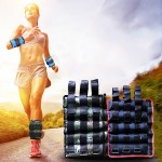 A Pair of Selling Fitness Loading Equipment Ankle Weights Gaiter Sandbags, Adjustable Invisible Running Sports Sandbags, Weight: