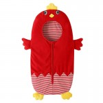Thick Cute Chick Style Baby Sleeping Clothing Bag for 0-6 Month Baby, Size: 85yard(Red)