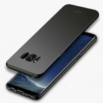 MOFI For Samsung Galaxy S8 Frosted PC Ultra-thin Edge Fully Wrapped Up Protective Case Back Cover(Black)