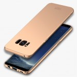 MOFI For Samsung Galaxy S8 Frosted PC Ultra-thin Edge Fully Wrapped Up Protective Case Back Cover(Gold)