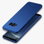 MOFI For Samsung Galaxy S8 + / G955 Frosted PC Ultra-thin Edge Fully Wrapped Up Protective Case Back Cover(Blue)