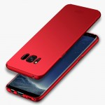 MOFI For Samsung Galaxy S8 + / G955 Frosted PC Ultra-thin Edge Fully Wrapped Up Protective Case Back Cover(Red)