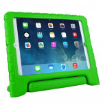 EVA Material Drop Resistance Protective Case with Holder for iPad Air (Green)