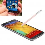 Pour Samsung Galaxy Note III rose / N9000 Stylet S Stylus / Smart Pressure Sensitive - Wewoo