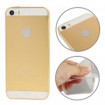 0.3mm Ultra Thin Materials TPU Protection Shell for iPhone 5 & 5s & SE (Transparent)