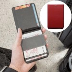 MAG Creative Magnetic Detachable Modular Wallet (Red)