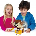 Farce & attrape Tricky Funny Toy jeu de famille OS Bone Stealing Hand Biting Bad Dog - Wewoo
