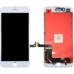 iPartsBuy 3 in 1 for iPhone 8 Plus (LCD + Frame + Touch Pad) Digitizer Assembly(White)
