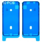 10 PCS iPartsBuy for iPhone X LCD Frame Bezel Adhesive Stickers