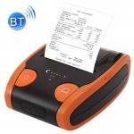 QS-5806 Portable 58mm Bluetooth POS Receipt Thermal Printer (Orange)