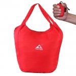 1329 Outdoor Climbing Portable Foldable Anti-splash Bag Ultralight Handheld Bag (Red)