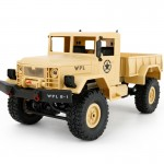 WPL B-14 1:16 Mini 2.4G 4WD RC Crawler Off Road Car with Light RTR(Yellow)