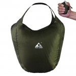 1329 Outdoor Climbing Portable Foldable Anti-splash Bag Ultralight Handheld Bag (Army Green)