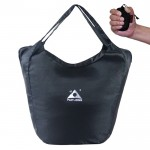 1329 Outdoor Climbing Portable Foldable Anti-splash Bag Ultralight Handheld Bag (Black)