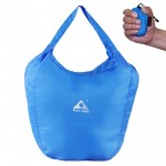 Sac Imperméable bleu Outdoor escalade portable pliable anti-éclaboussures Ultralight à main - Wewoo