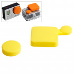 Jaune pour GoPro HD Hero 4 / 3+ Silicone Cover Set - Wewoo