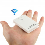 TS-BT35FA02 3.5mm Bluetooth Audio Transmitter & Receiver for iPhone 5 & 5S / iPad Air / iPhone 4 & 4S, Transmission Distance: >1