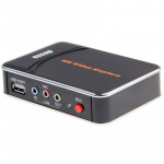 HDMI Game Capture 1080P HD Video Capture Recorder Box for XBOX One / 360 / PS3 / WII U with Professional Edit Software